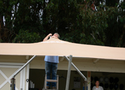 Shade Sail Installation