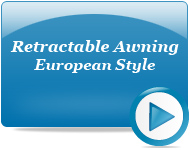 Retractable Awning European Style